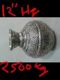 Silver Plated Matka