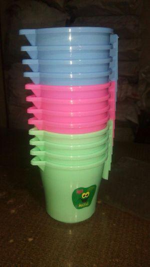 Plastic Bath Mugs