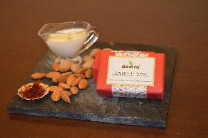 Almond Milk & Saffron Premium Bathing Bar