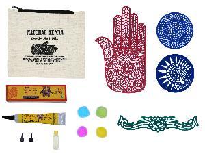 Natural Henna Body Art Kit