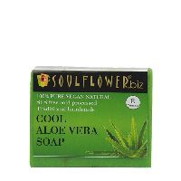 Soulflower Cool Aloe Vera Soap