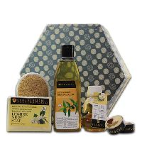 Soulflower Jasmine Hexagon Gift Set