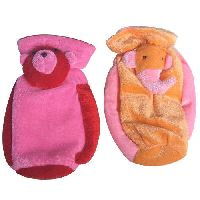 Velvet Baby Bottle Cover