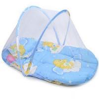 Baby Blue Mosquito Net