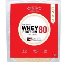 Sinew Nutrition Instantised 80% Raw Whey Protein, 840gm