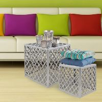 Cube Aluminum Table Set