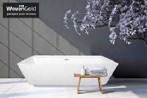 Woven Gold Acrylic Steam And Spa Bathtubs