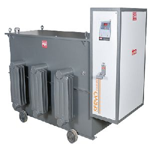 Oil Cooled Servo Controlled Voltage Stabilizers