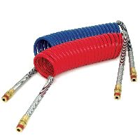 Tractor Trailer Coiled Air Hoses