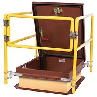 Roof Hatch Safety Ladders