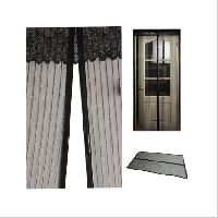 Magnetic Mosquito Curtain Black