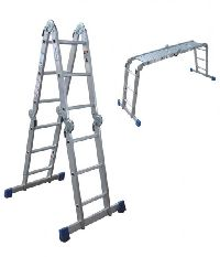 Blue Aluminium Foldable Ladder