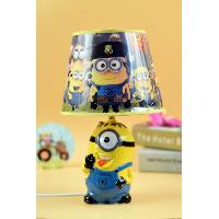 Despicable Me Yellow Ceramic Table Lamp