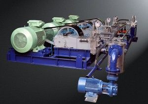 De Scaling High Pressure Pumps