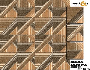 Nexa Brown Floor Tiles