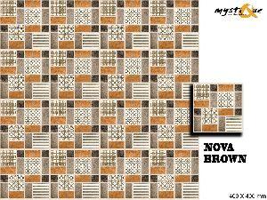 Nova Brown Floor Tiles