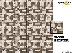Nova Silver Floor Tiles