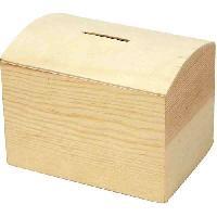 Plain Wooden Money Box