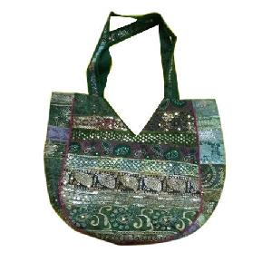 Ladies Printed Cotton Handbag