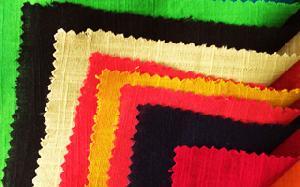 Dyed Cotton Slub Fabric
