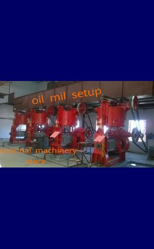 Oil mill erector, demolition  & total service contract