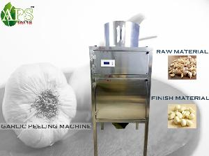 Dry Garlic Peeling Machine