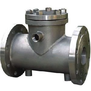 Steam Jacketed Swing Check Valves