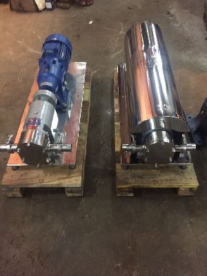 Stainless Steel Positive Rotary Lobe Pumps