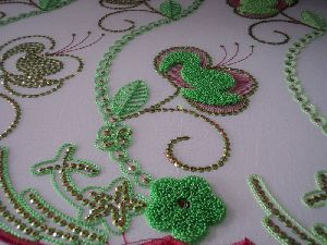 Chain Stitch Embroidery Work