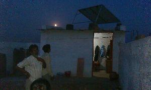 Community Solar Panel Installation