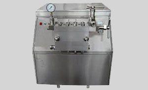 High Pressure Milk Homogenizer