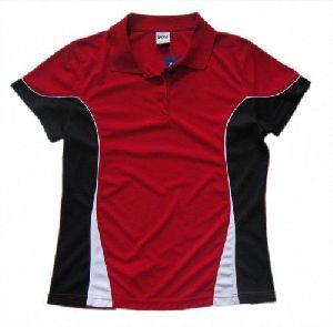 Ladies Polo Neck Sports T-shirts