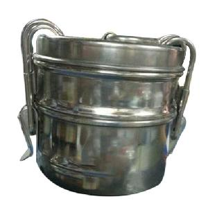 Stainless Steel 2 Tier Lunch Box