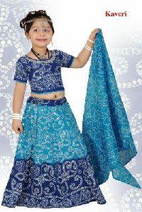 Kids Ghagra Choli Kaveri Chaniya Choli