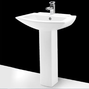 Flagtin Full Pedestal Wash Basin