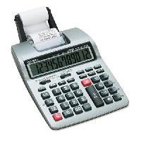 Hr-100tm Two-color Portable Printing Calculator