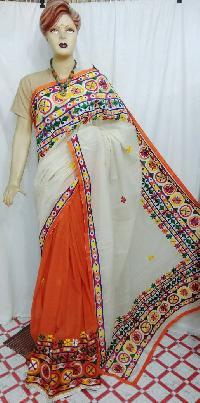 Kathiawari Work Sarees