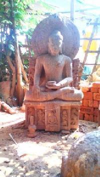 Budha Sandstone statue