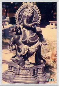 Ganesha Granite Statue