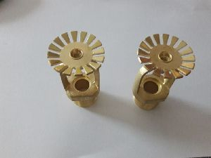Brass Nitric Plated Fire Sprinkler