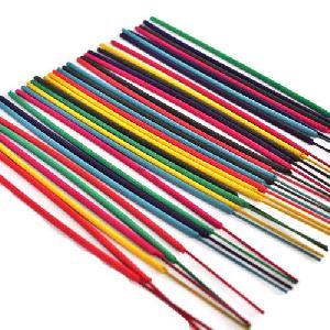 Coloured Raw Incense Sticks
