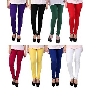 Women Blumelt Multi Color Cotton Leggings