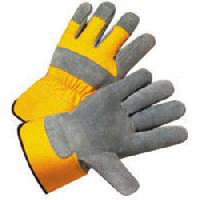 split hand gloves