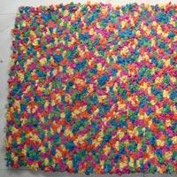 Cotton Flower Mat
