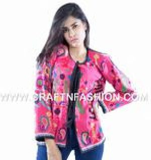 Designer Indian Mirror Work Jacket