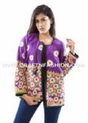 Designer Women Boho Embroidered Waist Coat
