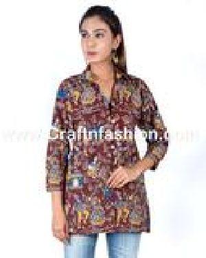 Fashion Wear Kalamkari Jacket