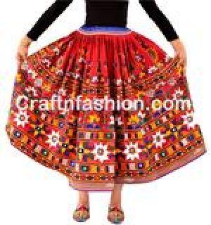 Indian Banjara Traditional Colorful Skirts