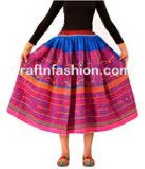 Rabari Embroidered Bohemian Skirt