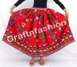 Traditional Hand Embroidered Banjara Skirt
